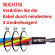 Kábelbehúzó Szett N420 (20 méter, 4 mm)