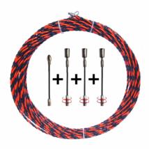 Kábelbehúzó Szett P610 (10 méter, 6 mm)